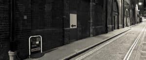 Fox Emerson Dark Laneway London