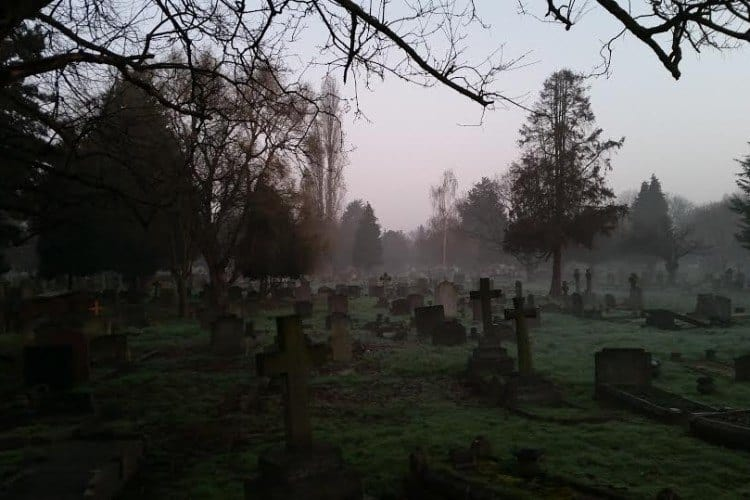 Living Next to a Cemetery in London
