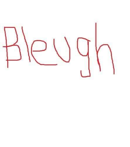 Bleugh - Fox Emerson Blogs